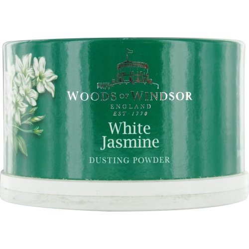 WOODS OF WINDSOR WHITE JASMINE by Woods of Windsor DUSTING POWDER 3.5 OZ for WOMEN ---(Package Of 5) by WOODS OF WINDSOR WHITE JASMINE