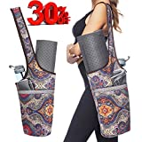 Ewedoos Yoga Mat Bag with Large Size Pocket and Zipper Pocket, Fit Most Size Mats. (Ancient Totem)