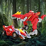 Dinosaur Deformation Robot Toy 2 in 1 Manual Deformation Dinosaur Robot and Car Combo Funny Toy for...