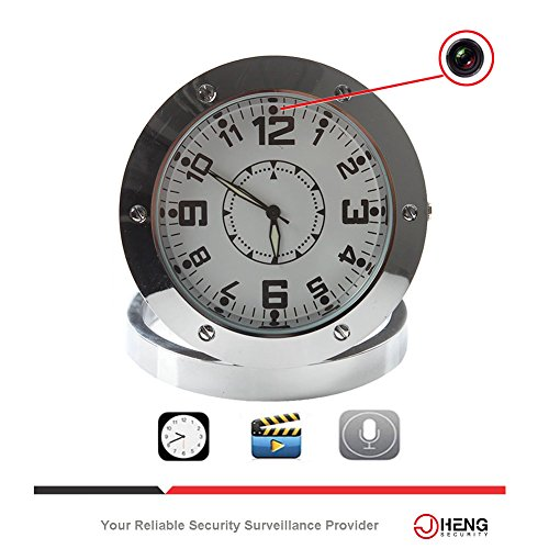 Home Security Clock Recorder Video Security Hidden Spy Camera Cam Motion Detector Max Support 32GB--CRAZY SALE (Nanny Cam With Display compare prices)