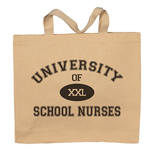 University Of XXL School Nurses Totebag Bag by T-ShirtFrenzy