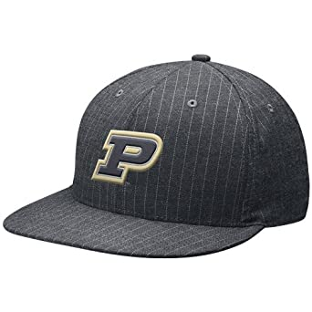 Image Unavailable. Image not available for. Color  NIKE Purdue Boilermakers  Charcoal Pinstripe Swoosh Flex Unisex Hat ... 55bec30e8f6f