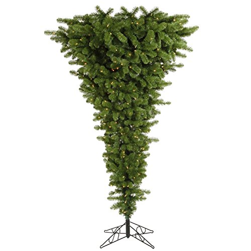 Pre-Lit Upside Down Christmas Tree with Stand