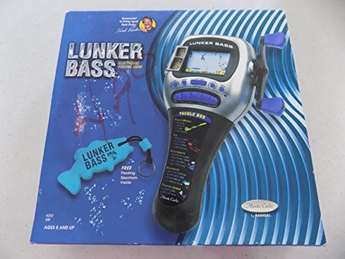 Radica Lunker Bass Fishing Handheld Game by Radica