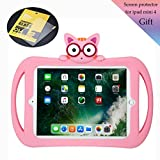 Starthere Compatible Shockproof Cover, Silicone Protective Case for Kids with Stand and Screen Protector, Replacement for iPad Mini 4/7.9 Inch