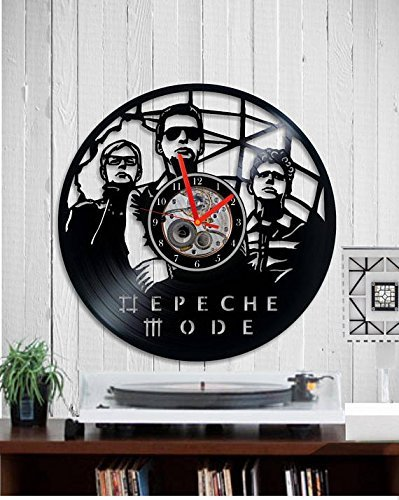 Depeche mode Vinyl clock wall clock handmade wall art Depeche Mode uhr Birthday gift Depeche Mode art home decor Classic rock Music 80
