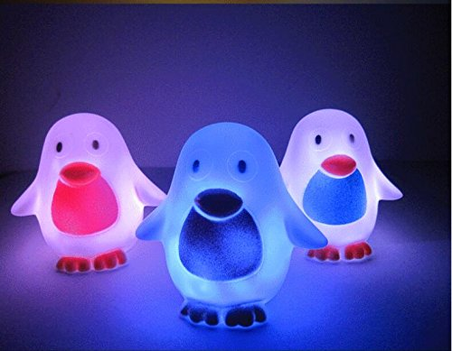 Jesica Cute Penguin Color Change LED Lamp Night Light