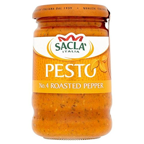 (Sacla' Roasted Pepper Pesto - 190g)