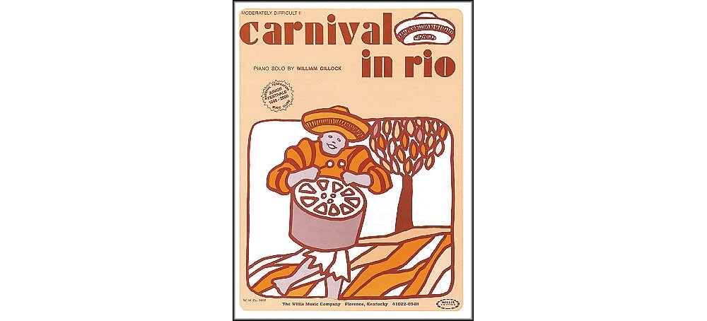 Download Willis Music Carnival In Rio Early Intermediate Piano Solo by William Gillock pdf epub