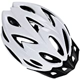 Zacro Adult Bike Helmet, CPSC Certified Cycle Helmet, Specialized for Mens Womens Safety Protection, Collocated with a Headband (White)