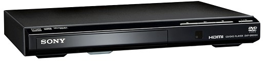 Sony DVD Player with HD Upconversion Black DVPSR510H - Best Buy