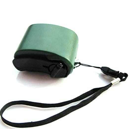 MXECO Mini manivela Radio USB Linterna Cargador de teléfono ...