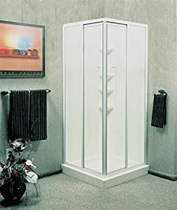 American Shower And Bath Corner Entry Shower Kit 5/16 \