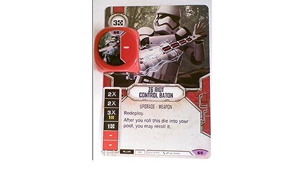 Z6 Riot Control Baton Star Wars Destiny Legendary #8 SOR Spirit Of Rebellion