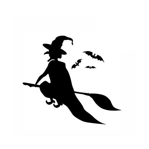 VORCOOL Bruja Simple Asistente de Vuelo y murciélagos Tatuajes de ...