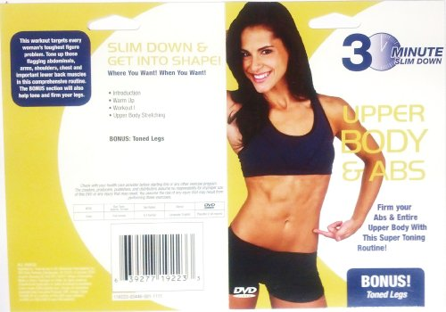 (30 Minute Slim Down - One of Six Titles: Lower Body Slim Down, Upper Body Toning, Fat Burner, Upper Body & Abs, Total Body Fitness & Slim Fitness)