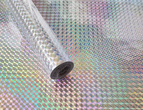 Classic Touch Zip Tac Self Adhesive Contact Paper (9 ft x 18 in) - Holographic #250