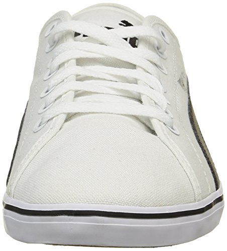 black White Adulto V2 01 Unisex Zapatillas ELSU CV Blanco Puma 1q80an