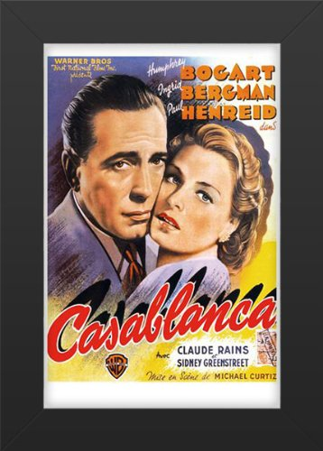 Casablanca Movie Art Print — Movie Memorabilia — 11x17 P