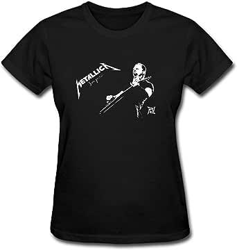 Duanfu Metallica Jaymz Women's Cotton Short Sleeve T-Shirt