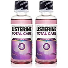 2x Listerine TOTAL CARE Mouthwash MINI Travel Size 95ml by Listerine