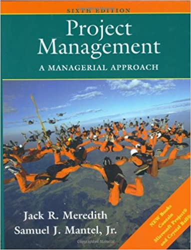 Amazon project management a managerial approach project management a managerial approach 6th edition fandeluxe Gallery