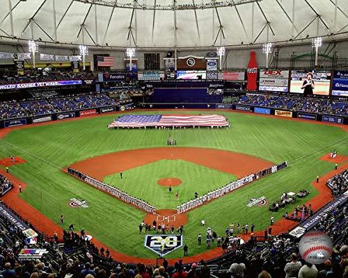 Tropicana Field Tampa Bay Rays MLB Photo (Size: 8