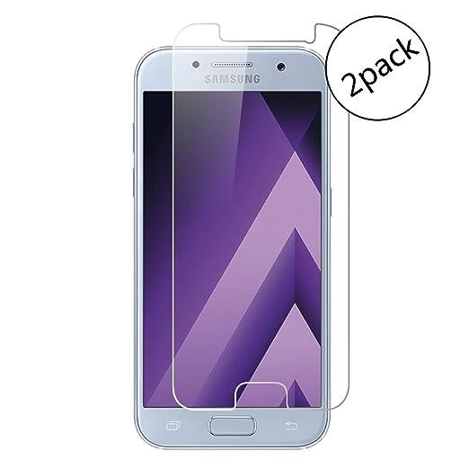 4 opinioni per Wrcibo [2-Pack] Samsung Galaxy A5 2017 Pellicola Protettiva, 9H 0,26mm