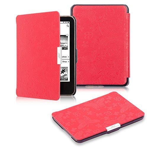 107 opinioni per Tolino Vision 3 HD Case, icci Tolino Vision 3 HD Sleep Cover [Premium Butterfly]