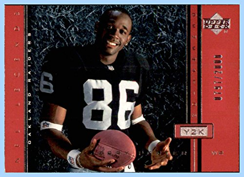 2000 Upper Deck Legends #118 Jerry Porter RC OAKLAND RAIDERS ROOKIE SERIAL #797/2000 WEST VIRGINIA -