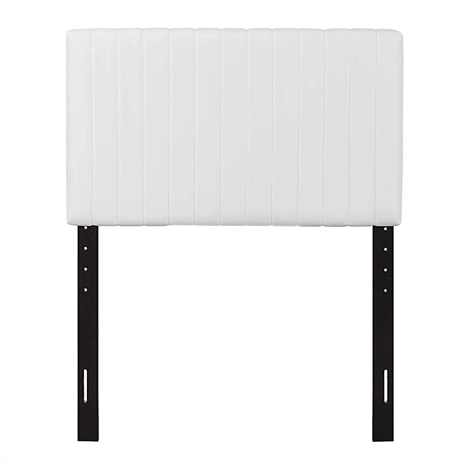 Modway Keira Faux Leather Twin Headboard in White