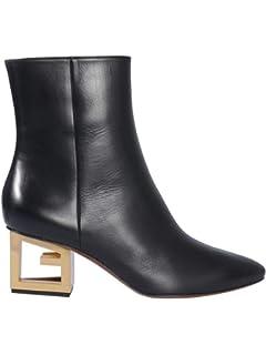 BE08143004001 Cuir Femme Noir Bottines Givenchy sthrdCQ