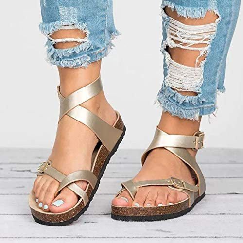 - LINH MIU Basic Women Sandals 2019 3 Color Rubber, Could New Women Summer Sandals Plus Size 43 Leather Flat Sandals Female Flip Flop Casual Beach Shoes Women Gold