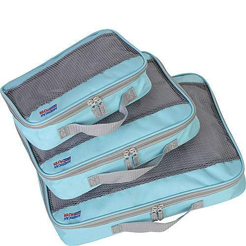 American Flyer Perfect Packing Cube 3pc Set Mint