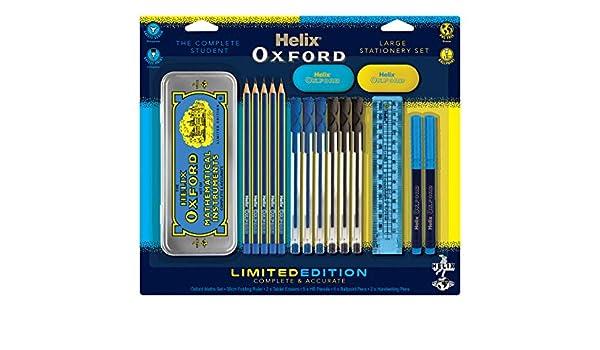 Rsw Ruler /& Pencil Set With 2x Hb Pencils 30cm Ruler Pencil Sharpener /& Eraser