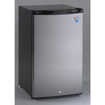 refrigerator 4 5 cu ft. avanti ar4456ss counterhigh refrigerator, 4.5 cu. ft., black/stainless steel refrigerator 4 5 cu ft