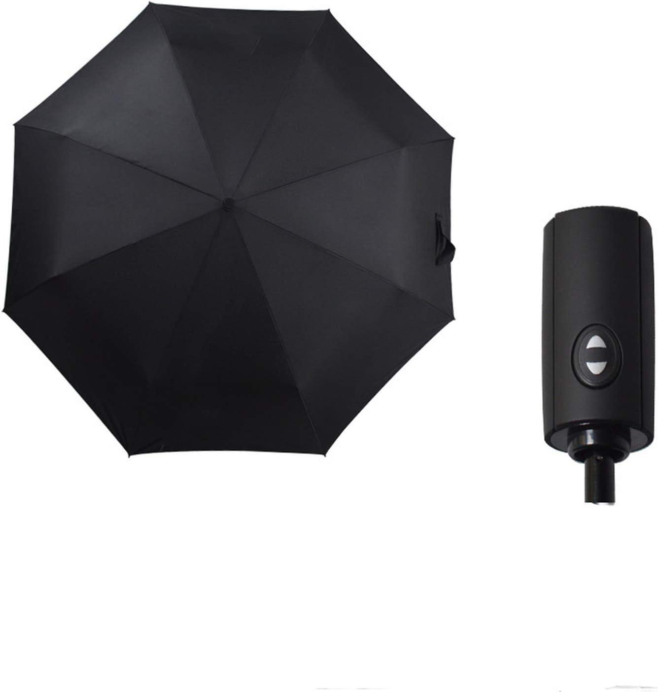 32cm long when closed Totes Black Folding Umbrella