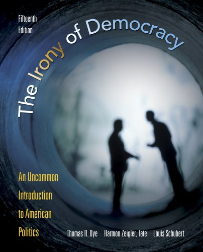 Bundle: The Irony of Democracy: An Uncommon Introduction to American Politics, 15th + Latino-American Politics Supplement