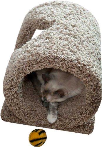 Floor Cat Tunnel Color: Blue, My Pet Supplies