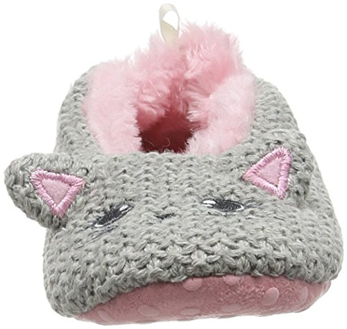 Pumpkin Patch Mädchen Girls Kitty Slipper Hausschuhe Grey (Athletic Marle)