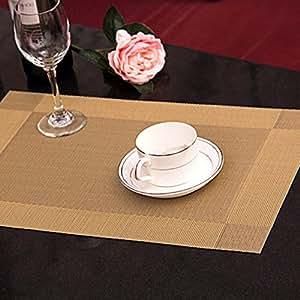 Amazon Com Table Pads Pvc Set Of 4 Dining Restaurant