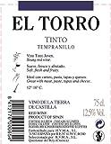 El-Torro-Tempranillo-Vino-de-la-Tierra-de-Castilla-2012-75cl-Rotwein
