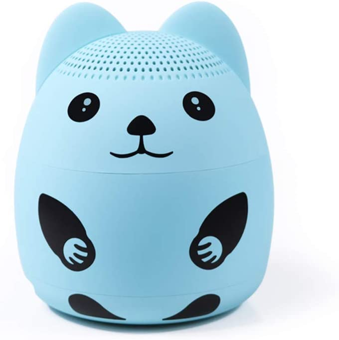 momoho Mini Bluetooth Speaker - Small Size but Great Sound Quality,up to 5 Hours Playtime,Photo Selfie Button & Answer Phone Calls,BTS0019A (Blue)