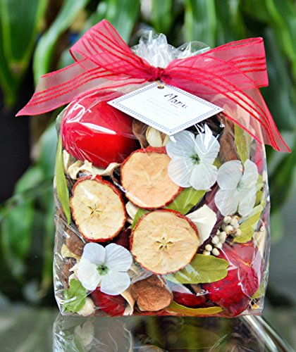 Manu Home Large Apple Orchard Potpourri bag~ Enjoy coming home to the fresh scent of Manu Home's Botanical Apple Potpourri ~ Proudly Made in the USA! by Manu Home
