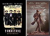 The Stories Of Wyatt Earp Classic Western Double DVD pack: Wyatt Earp & Tombstone (Kurt Russell/ Val Kilmer/ Kevin Costner/ Dennis Quaid/ Gene Hackman)