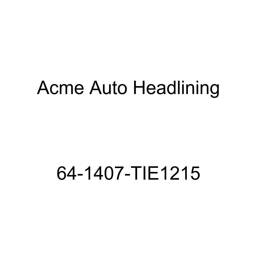 Chevrolet Impala 4 Door Sedan 6 Bow Acme Auto Headlining 64-1407-TIE1215 Turquoise Replacement Headliner