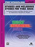 Student Instrumental Course Studies and Melodious Etudes for Tuba: Level III