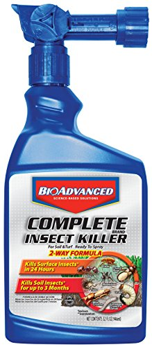 Bayer Advanced 700280B Complete Insect Killer for Soil and Turf Ready-To-Spray, 32-Ounce (Flea Killer Spray)