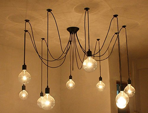wood edison bulb lighting lights upcycled chandelier of with light x cage photo