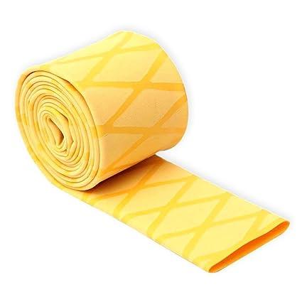 Hilltop Products Ltd - Mango antideslizante con textura termoretráctil X Wrap Grip Tubing amarillo, azul